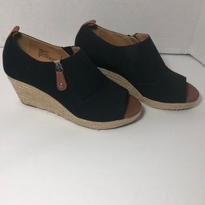 Comfort view wedge espadrilles shoes